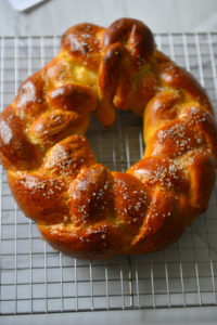 Finnish Pulla - a soft and delicious Christmas Bread