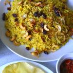 Jackfruit Biryani in  Pressure Cooker | Vegan