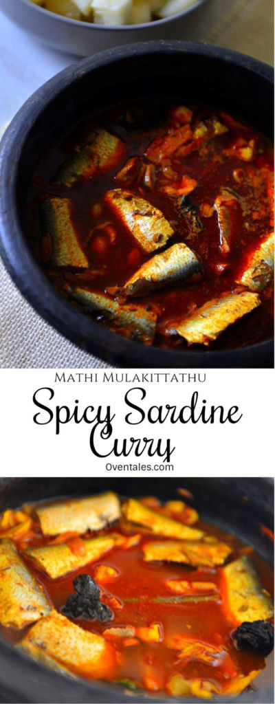 Mathi Mualittathu - Spicy Sardine Curry