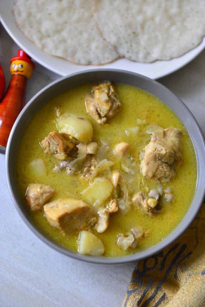 Kerla Style Chicken Ishtu or Stew