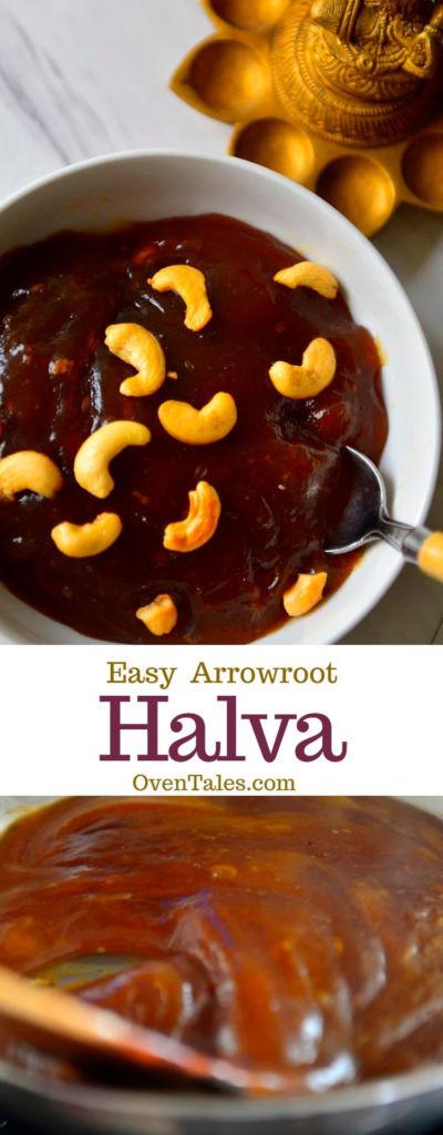 Easy Arrowroot Halva