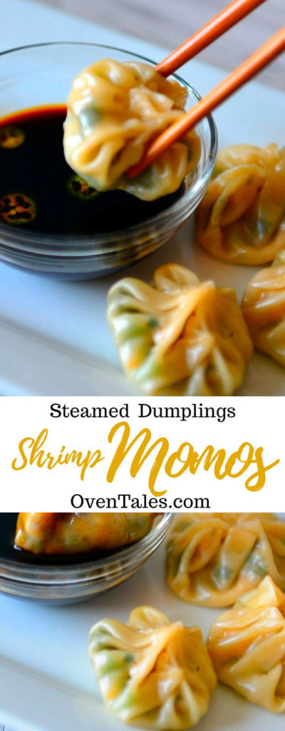 Easiest Shrimp Momos