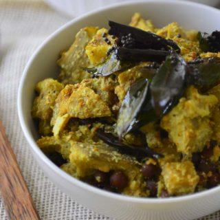 Koottu Curry - Vegetable and Chick Pea Dish For Sadya