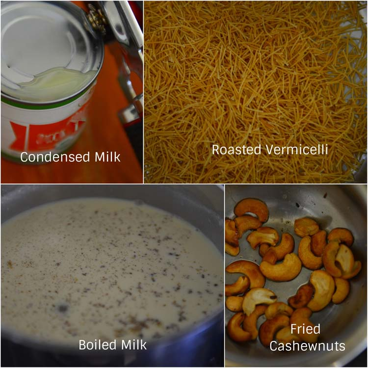 Making Semiya Payasam - Vermicelli Kheer