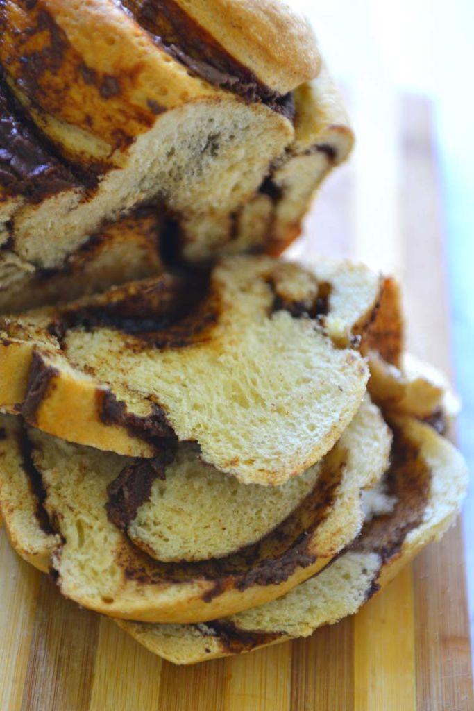 Nutella Swirl Bread