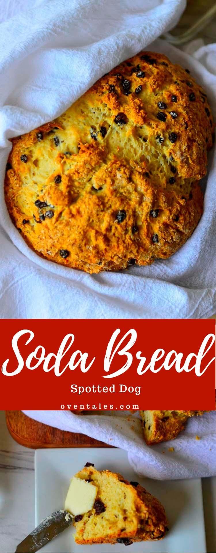 Spotted Dog - Irish Soda bread