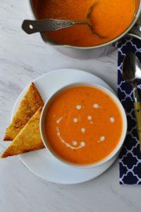 Creamy Tomato Soup Vegan