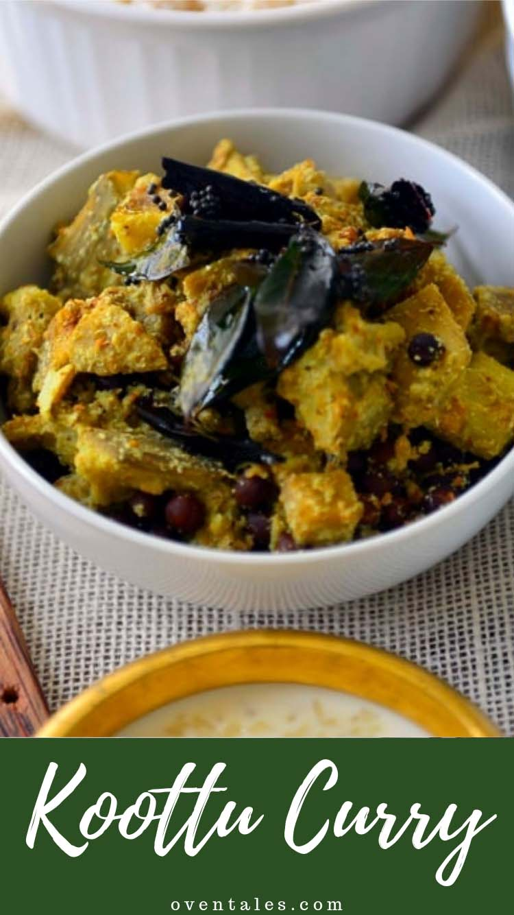 Koottu Curry - Vegetable and Chick Pea Dish