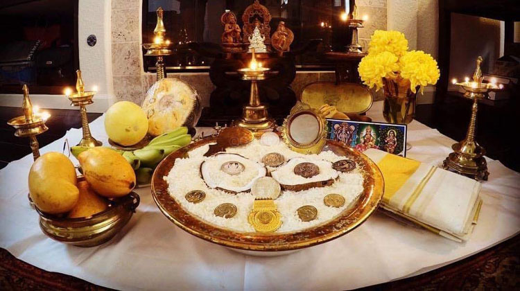 Vishu Picture Courtesy Padmaja Pottathil.