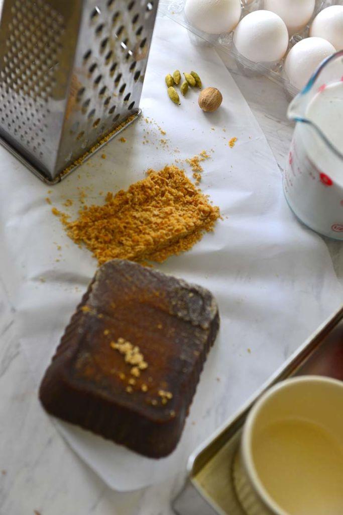Wattalappam Ingredients
