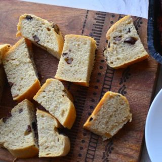 Rustic Mediterranean Olive Bread Made With Kalamatta Olives