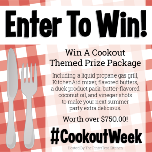 CookoutWeek2018 Giveaway !!