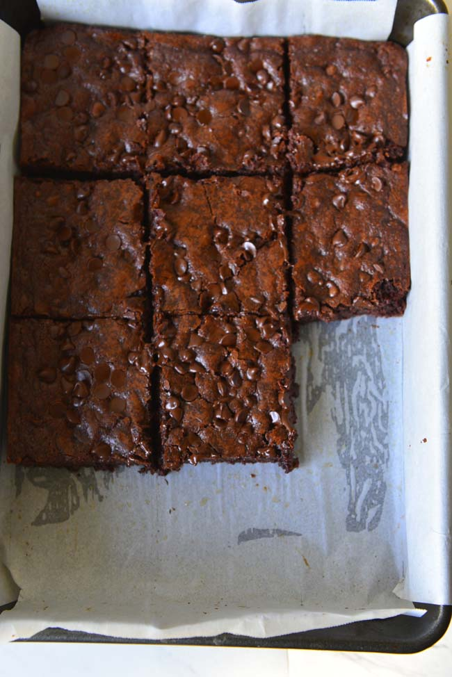 Moist Double Chocolate Brownie With Coconut Oil