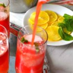 Watermelon Agua Fresca - A refreshing summer drink made with fruit juice