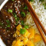 Korean Inspired Shredded Beef Bowl