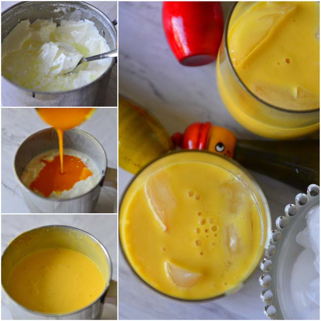 Making Mango Lassi
