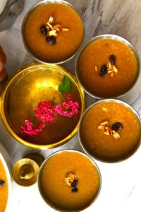 Broken wheat payasam or gothambu pradhaman