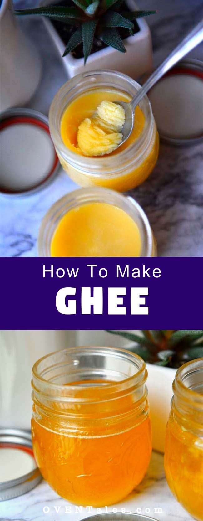 How to make ghee pin