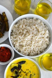 A Vegetarian Kerala Meal