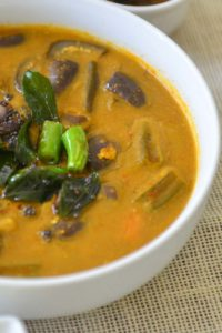 The Onam Special Sambar - Varutahracha Sambar with roasted fresh spices