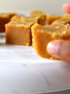 Easy Peanut butter fudge from scratch