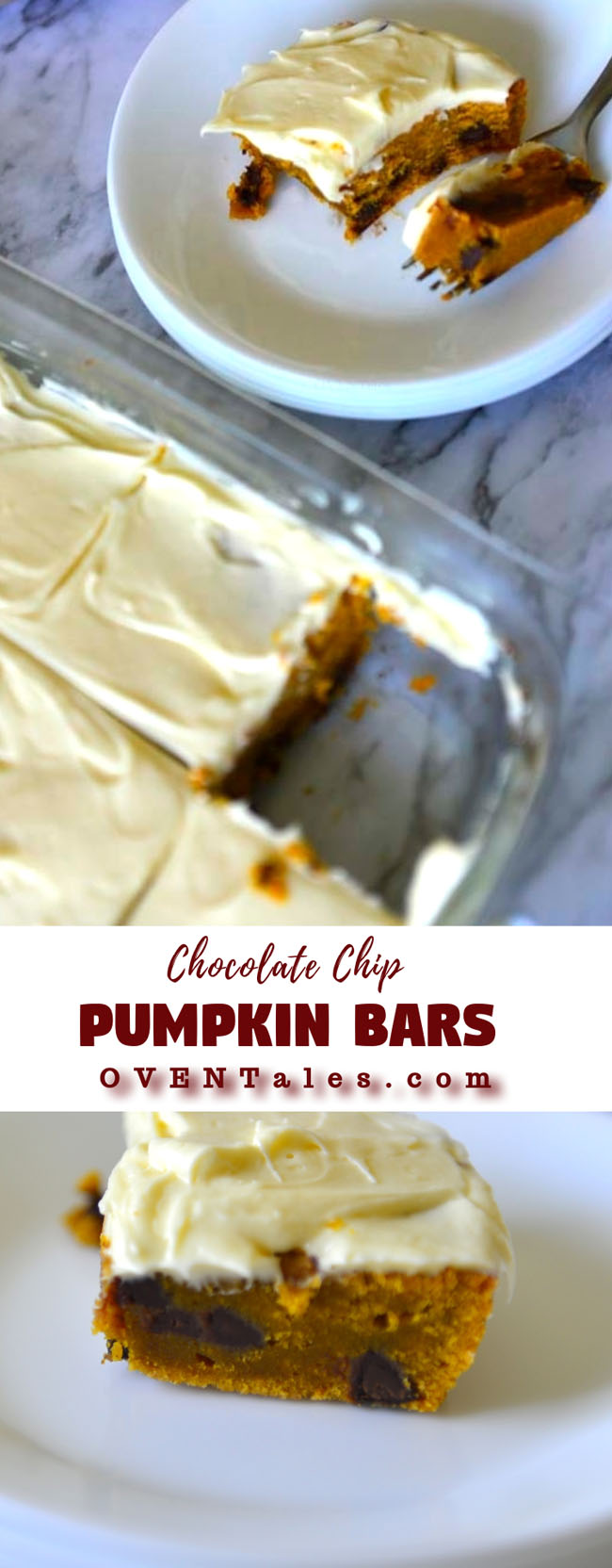 Chocolate Chip Pumpkin Bar
