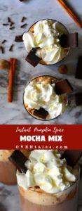 Instant Pumpkin Spice Mocha