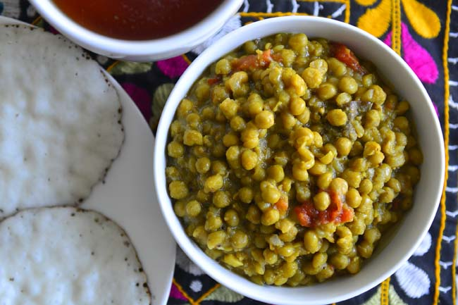 Kerala Style Green Peas Curry in Pressure Cooker , Instant Pot Recipe