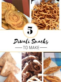 5 Diwali snacks To Make