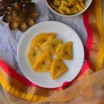 Badam Puri or Badami Puri or Almond Poori