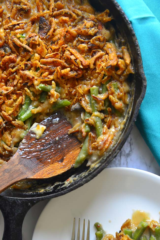 Vegan Green Bean Casserole From Scratch