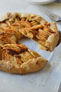 The easy pie fix - apple galette or apple crostata