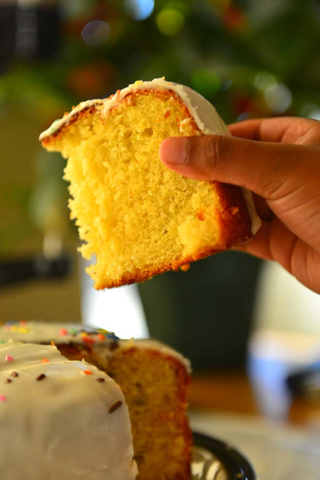 Russian Kulich - THe Easter Cake