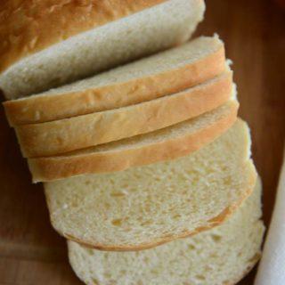 Herman Milk Bread - Sliced. Soft and spongy