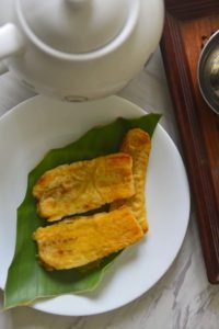 Sweet Nedrapazham or plantain fritters
