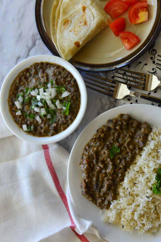 Vegan Black lentlis