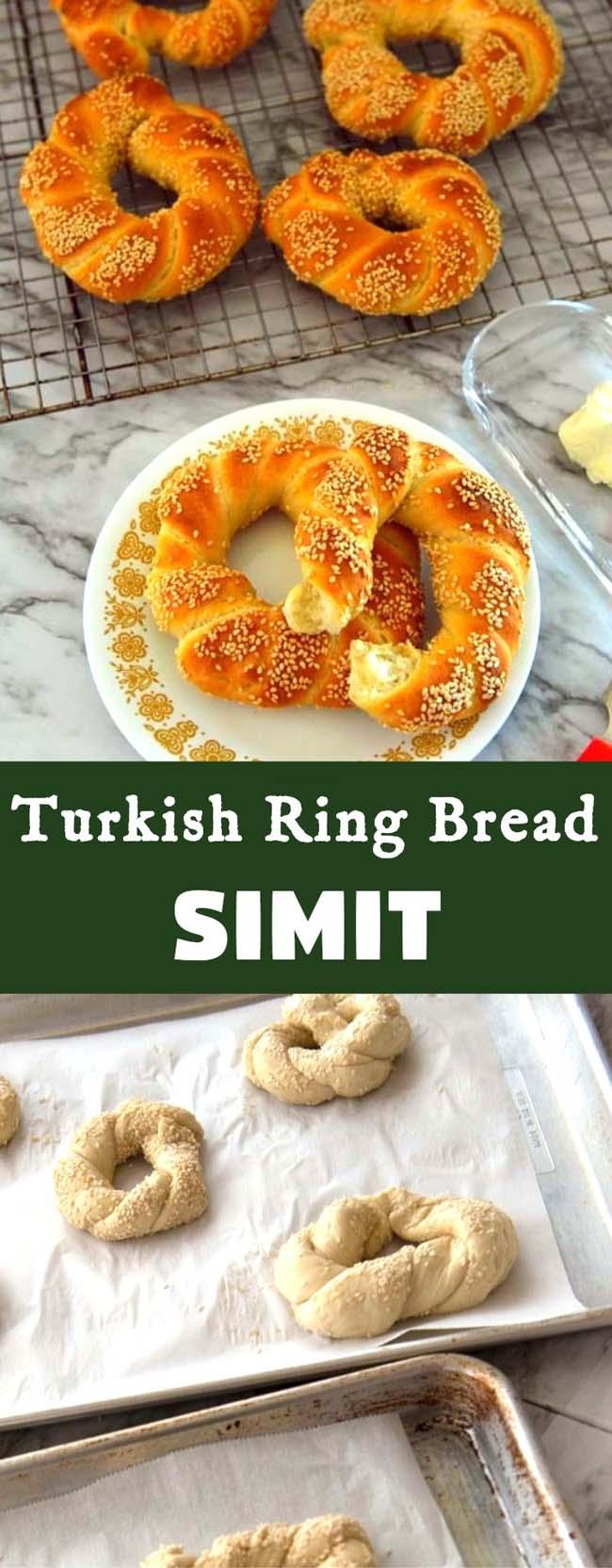 Turkish Simit Long pin
