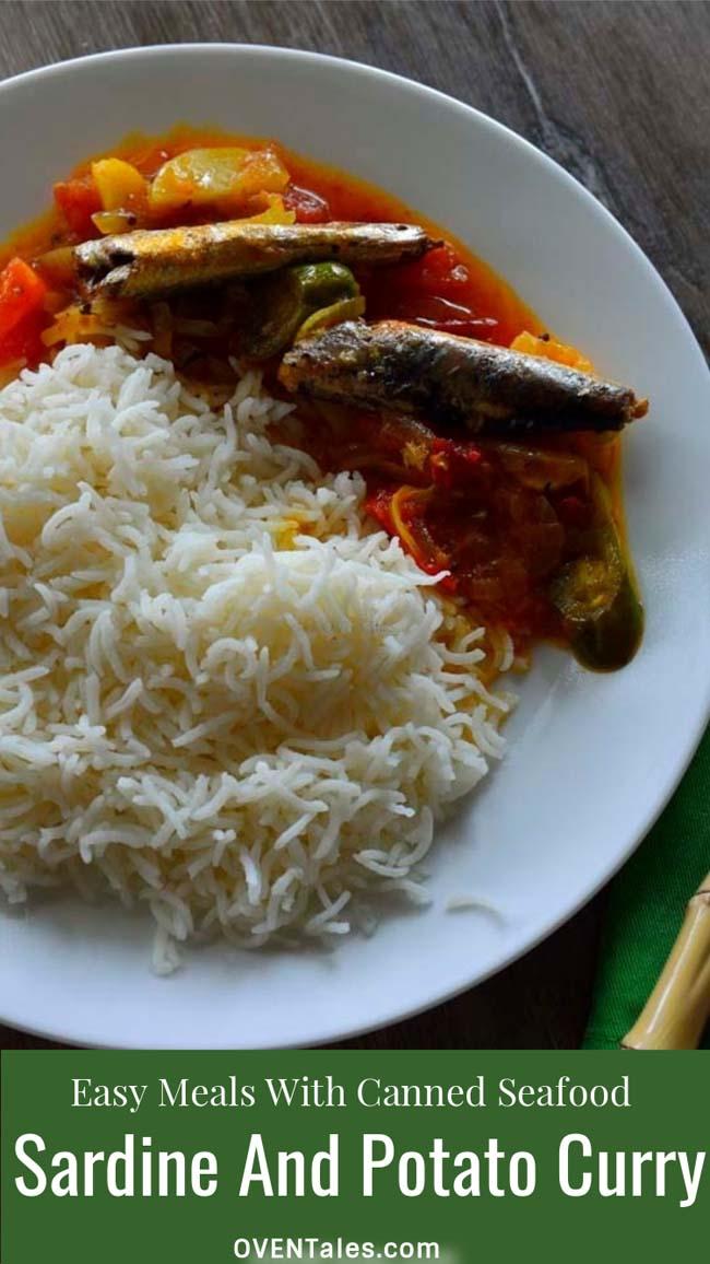Easy Potato And Sardine Curry